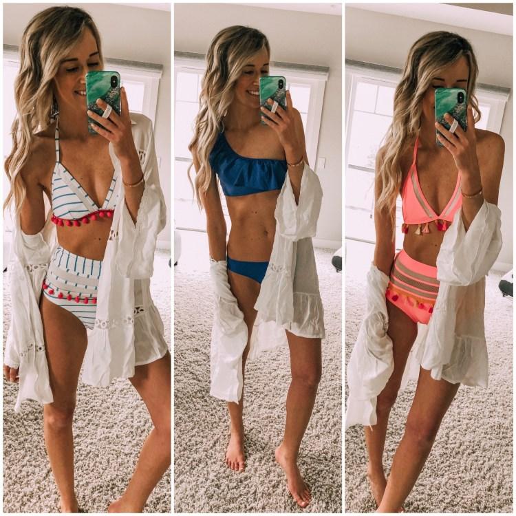 amazon swim haul fashion finds