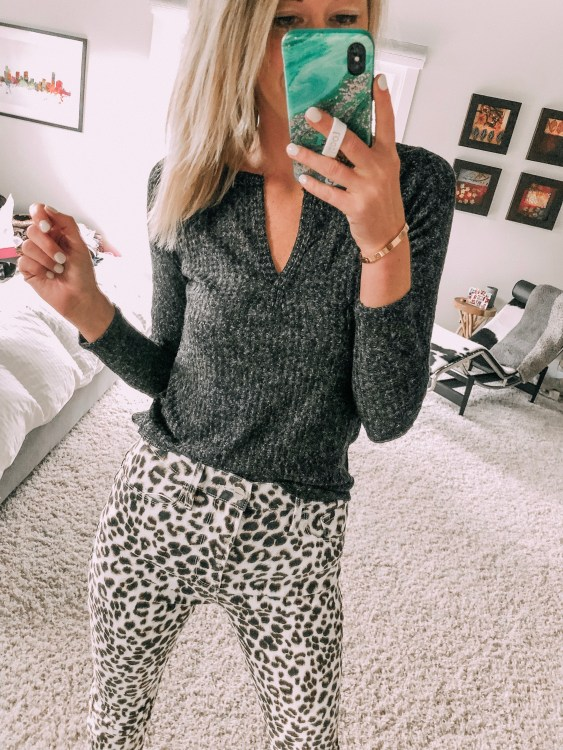leopard print fall 2019 style outfit