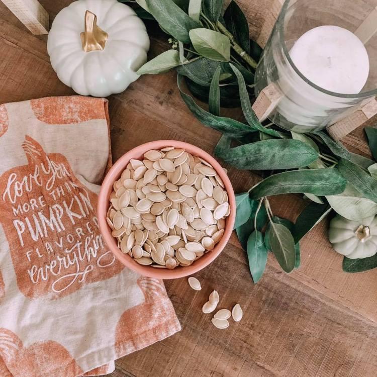 pumpkin seeds fall bucket list