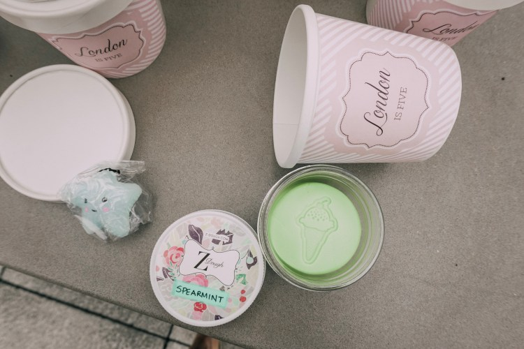party favors ice cream