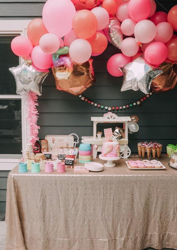 London's 5th Birthday: Ice Cream Shoppe