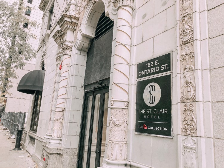 the st clair hotel red collection chicago