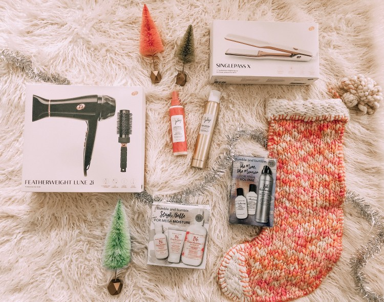 heyitsjenna gift guide for her hair products christmas t3
