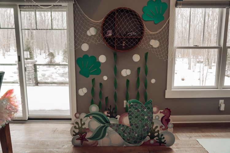 mermaid birthday party decor ideas DIY