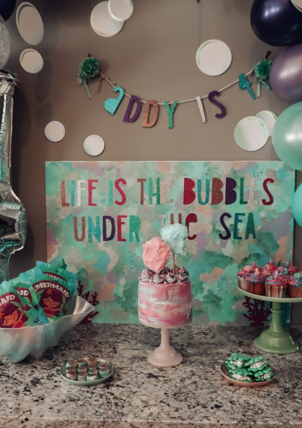 Under The Sea: Addy's 4th Birthday Party
