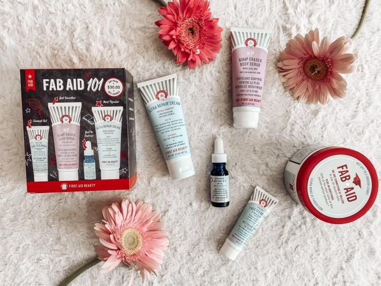 first aid beauty fab aid skincare cbd ultra repair cream