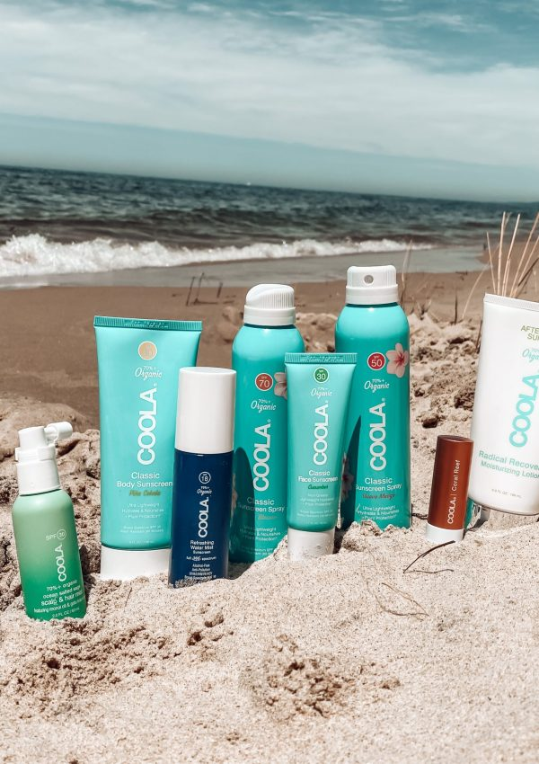Sun-Safe at the Beach with COOLA
