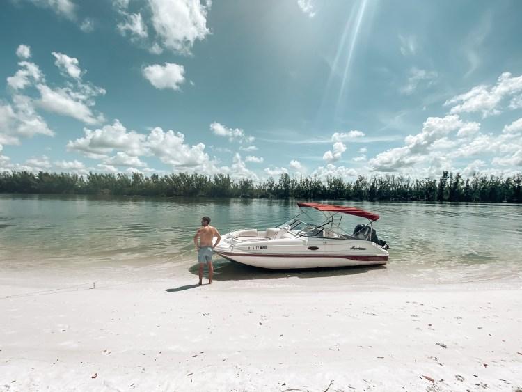 marco island boat rental shell island