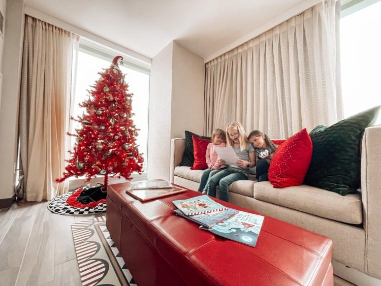 cleveland hilton mr kringle suite christmas family fun