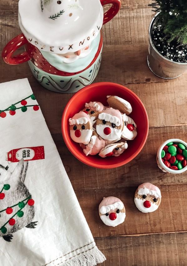Santa Dipped Oreos Recipe