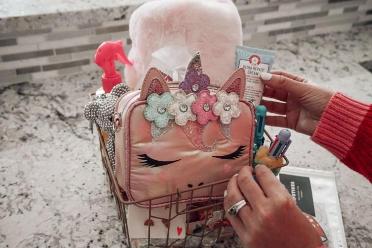 omg accessories, girls guide, Valentine's gift basket