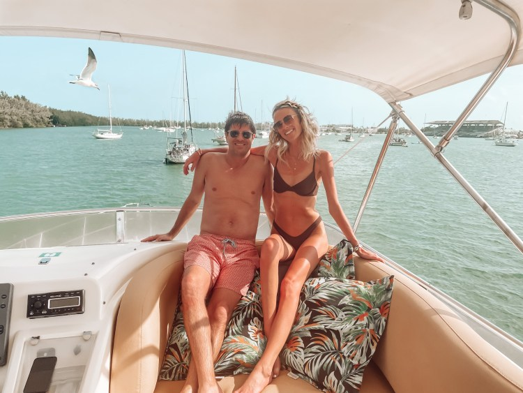 boating in south beach intracoastal