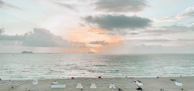 w hotel miami south beach travel guide beach sunrise