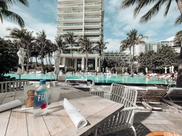 w south beach pool