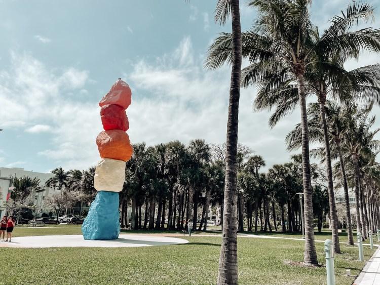 collins park miami mountain south beach art