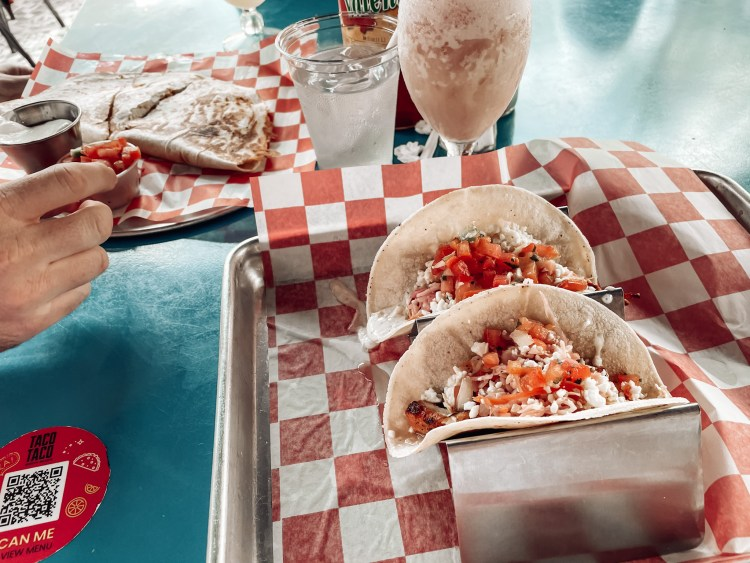 lunch at taco taco south beach travel guide florida