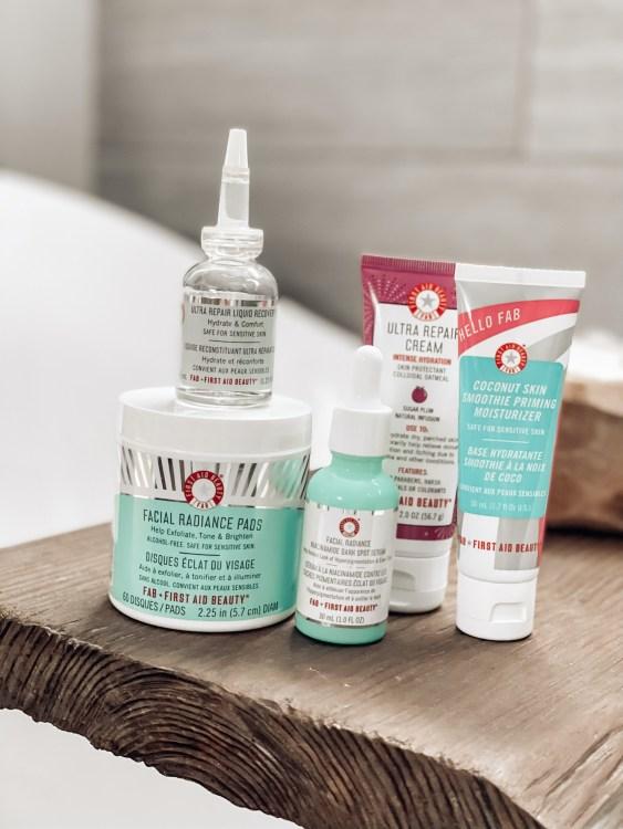 first aid beauty skincare rountine sephora ulta