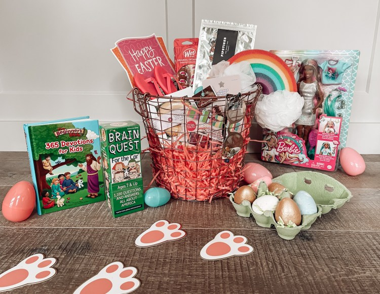 Easter basket fillers and gift guide for kids