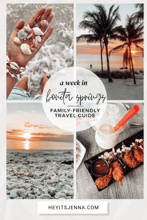 a week in bonita springs family travel