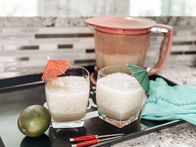spicy pineapple margarita recipe easy blender drinks