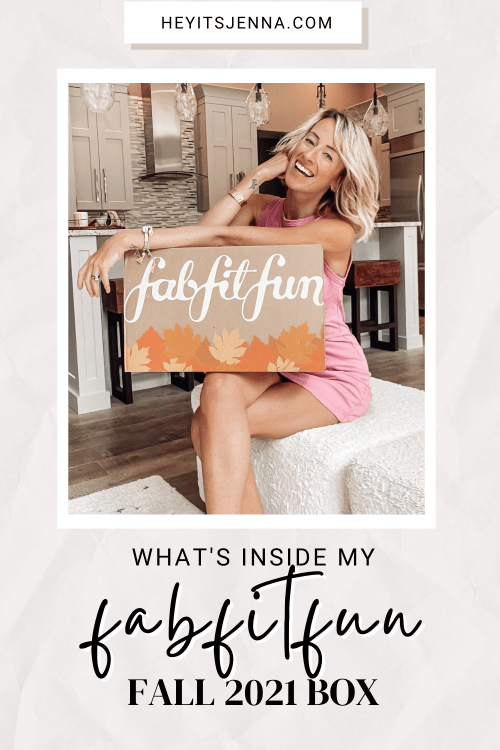 what's inside my 2021 fabfitfun fall box review with pictures