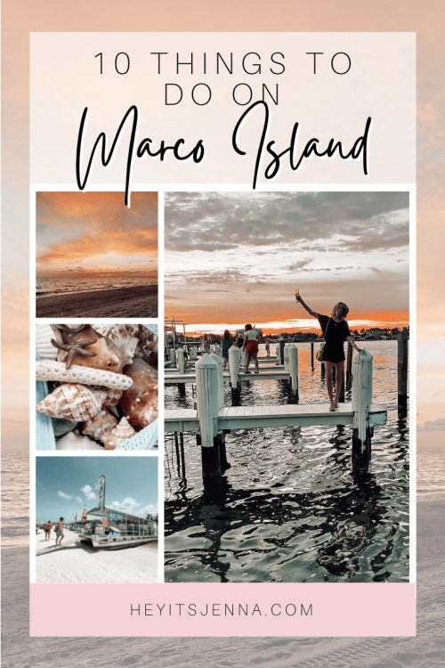10 things to do on marco island travel guide influencer heyitsjenna hilton snook in