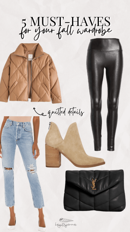 5 Must-Haves for Your Fall Wardrobe