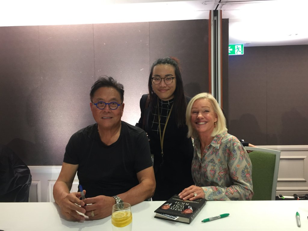 Robert and Kim Kiyosaki