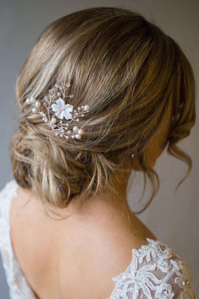 cherry blossom hair pin