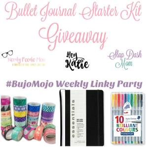 BuJo Mojo Linky Party Giveaway!