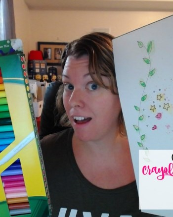 VEDA Day 11: Testing Crayola Washable Markers For Use as Watercolors