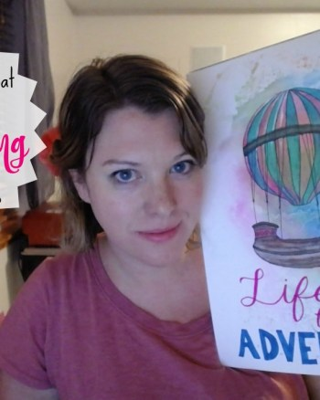 VEDA Day 13: Watch Me Speed Paint a Steam Punk Dirigible!