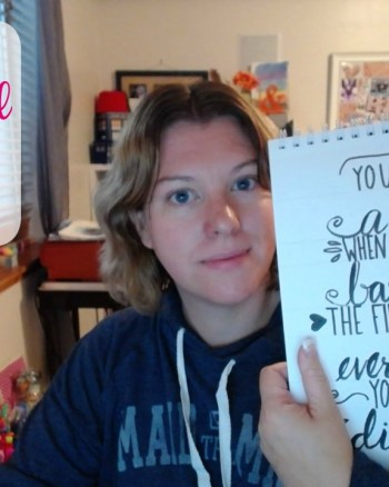 VEDA Day 17: How to Design and Set Up a Hand Lettered Quote