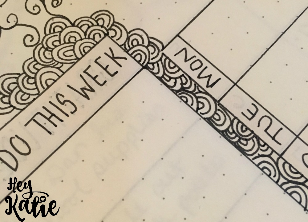 The Seven Elements of a Successful Weekly Bullet Journal Spread