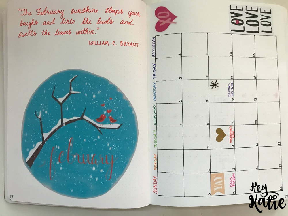Setting Up 2017 Bullet Journal