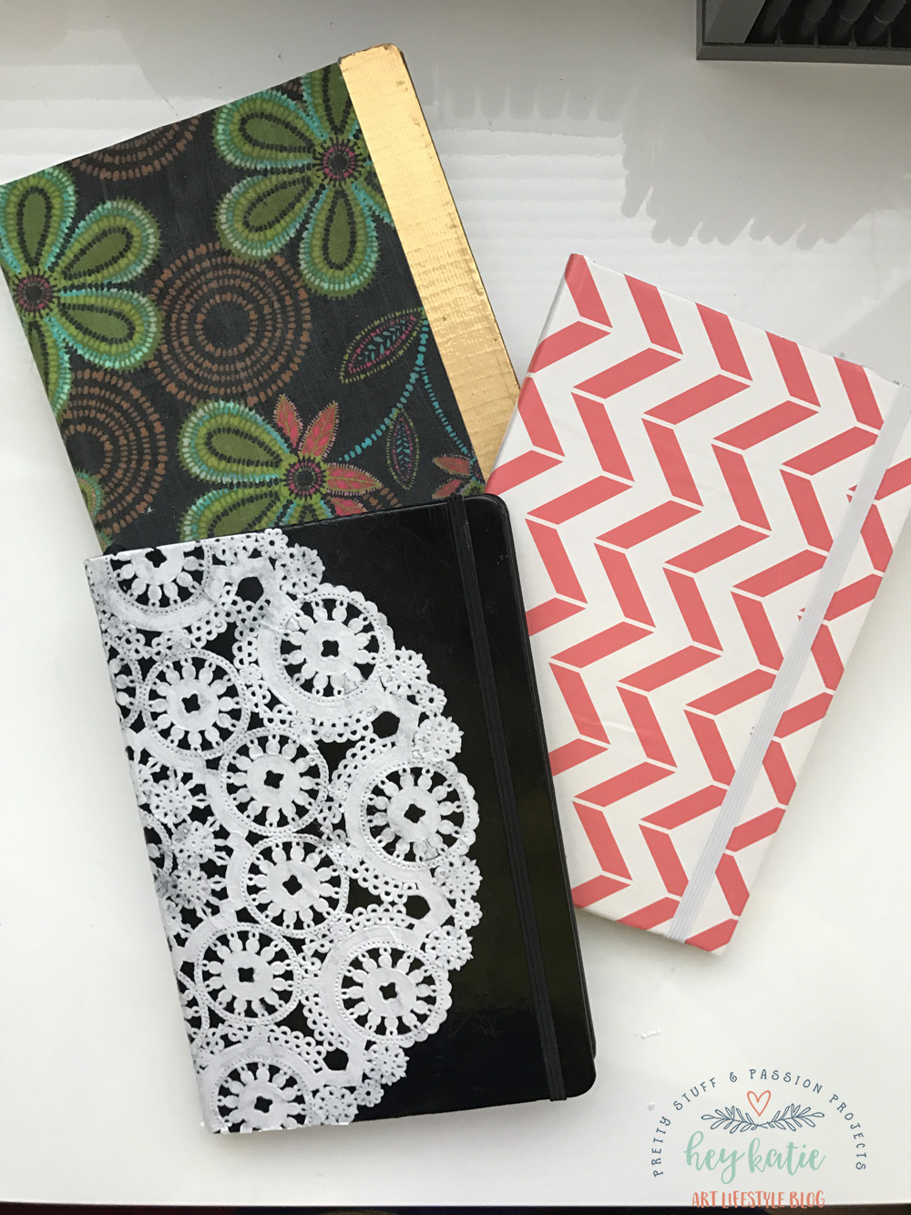 How to Create an AWESOME Bullet Journal Cover with a Paper Doily