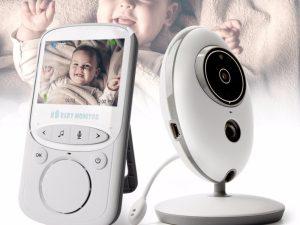 Moniteur pour bébé avec caméra et audio