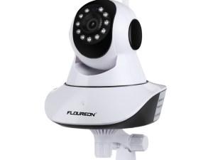 Caméra de surveillance bébé avec support accroche au mur