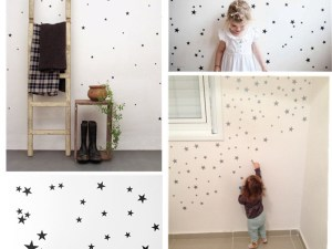 Stickers muraux étoiles déco chambre enfant