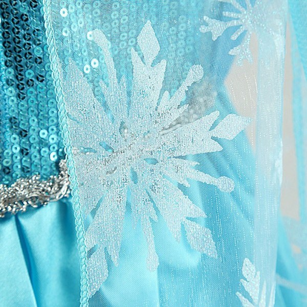 Détails de la robe Elsa