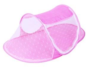 Moustiquaire bébé nourrisson - protection bébé contre moustiques et mouches - couleur rose