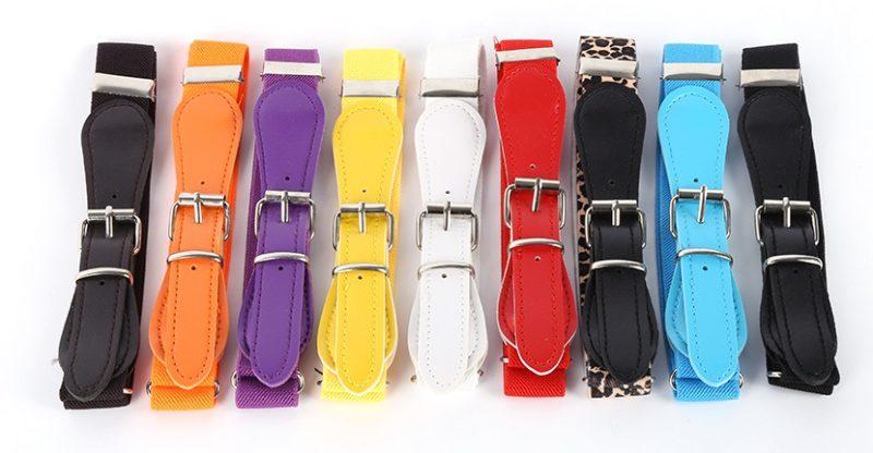 really cheap sports shoes on sale Ceinture garçon ou fille - Large et élastique (stretch) avec boucle -  Plusieurs coloris