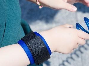 Laisse pour enfant - Bracelet avec fermeture velcro
