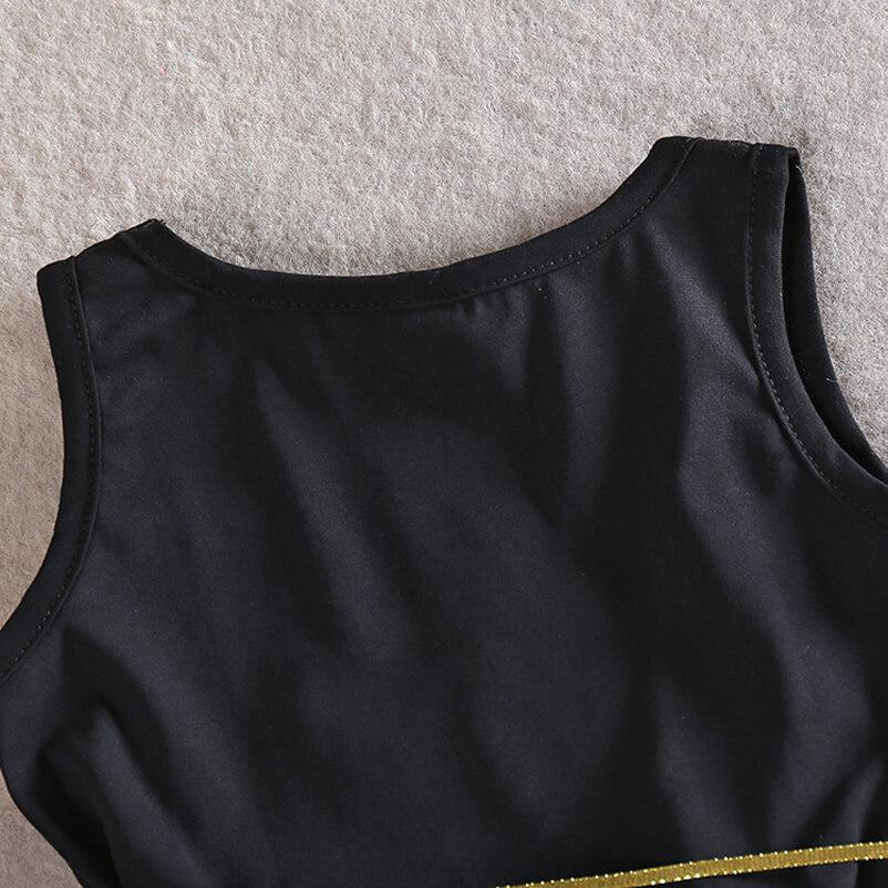 Robe côté dos en détail