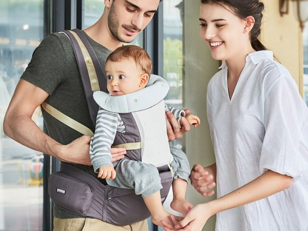 Porte-bébé transformable en hipseat