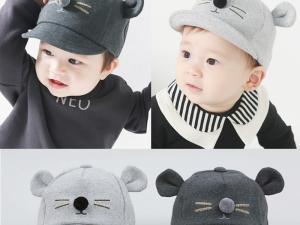 Jolie casquette automne hiver pour bébé
