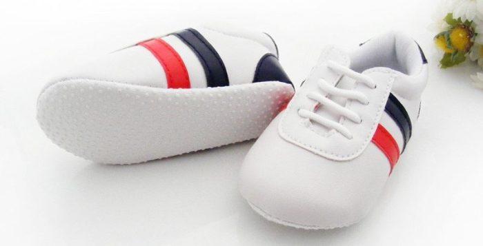 Baskets à semelles antidérapantes pour bébé fille ou bébé garçon
