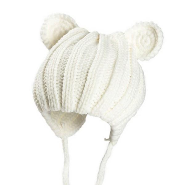 Bonnet bébé blanc