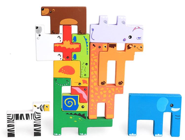 Jouets de blocs à empiler