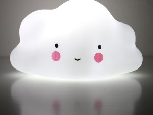 Veilleuse lumière douce pour rassurer bébé